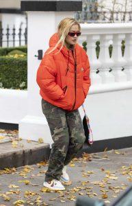Rita Ora in a Camo Pants