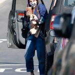 Scout Willis in a Protective Mask Was Seen Out in Los Angeles 10/18/2020