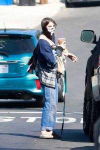 Scout Willis in a Protective Mask