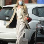 Ali Larter in a Beige Trench Coat Was Seen Out in Los Angeles 11/20/2020