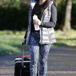Becky Nicholson Arrives at the Ice Rink for Training in Peterborough 11/13/2020
