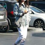 Eiza Gonzalez in a White Sneakers Was Seen Out in Los Angeles 11/13/2020