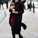 Faye Brookes Was Seen Out with Joe Davis and Little Pomeranian Pup in Manchester 11/17/2020