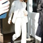 Kendall Jenner in a White Outfit Was Seen Out in New York 11/20/2020