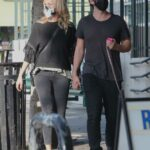 Malin Akerman in a Protective Mask Was Seen Out with Jack Donnelly in Los Feliz 11/23/2020