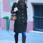 Nicky Hilton in a Black Coat Was Seen Out in New York 11/20/2020