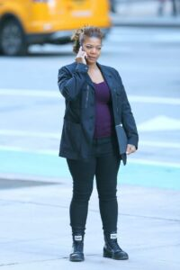 Queen Latifah in a Black Blazer