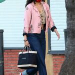 Rumer Willis in a Pink Blazer Was Seen Out in Los Angeles 11/09/2020