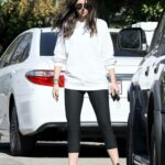 Ana De Armas in a White Sweatshirt Was Seen Out in Brentwood 12/04/2020