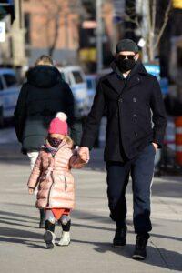 Bradley Cooper in a Black Protective Mask