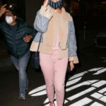 Eiza Gonzalez in a Pink Sweatsuit Was Seen Out in West Hollywood 01/11/2021
