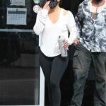 Jennifer Lopez in a Black Leggings Leaves the Gym in Miami 01/21/2021
