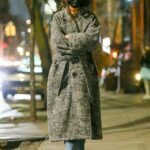 Katie Holmes in a Black Protective Mask Was Seen Out in New York 01/15/2021