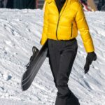 Kendall Jenner in a Yellow Prada Jacket Was Seen Out in Aspen 01/02/2021