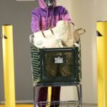 Taraji P. Henson in a Purple Hoodie Does a Trip to the Grocery Store in Los Angeles 01/24/2021