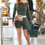 Iggy Azalea in a Black Protective Mask Stops By an Erewhon Grocery Store in Los Angeles 02/21/2021