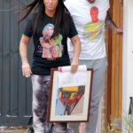 Katie Price in a Black Tee Was Seen Out with Carl Woods in London 02/12/2021