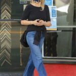 Malin Akerman in a Black Top Was Seen Out in Los Angeles 02/16/2021