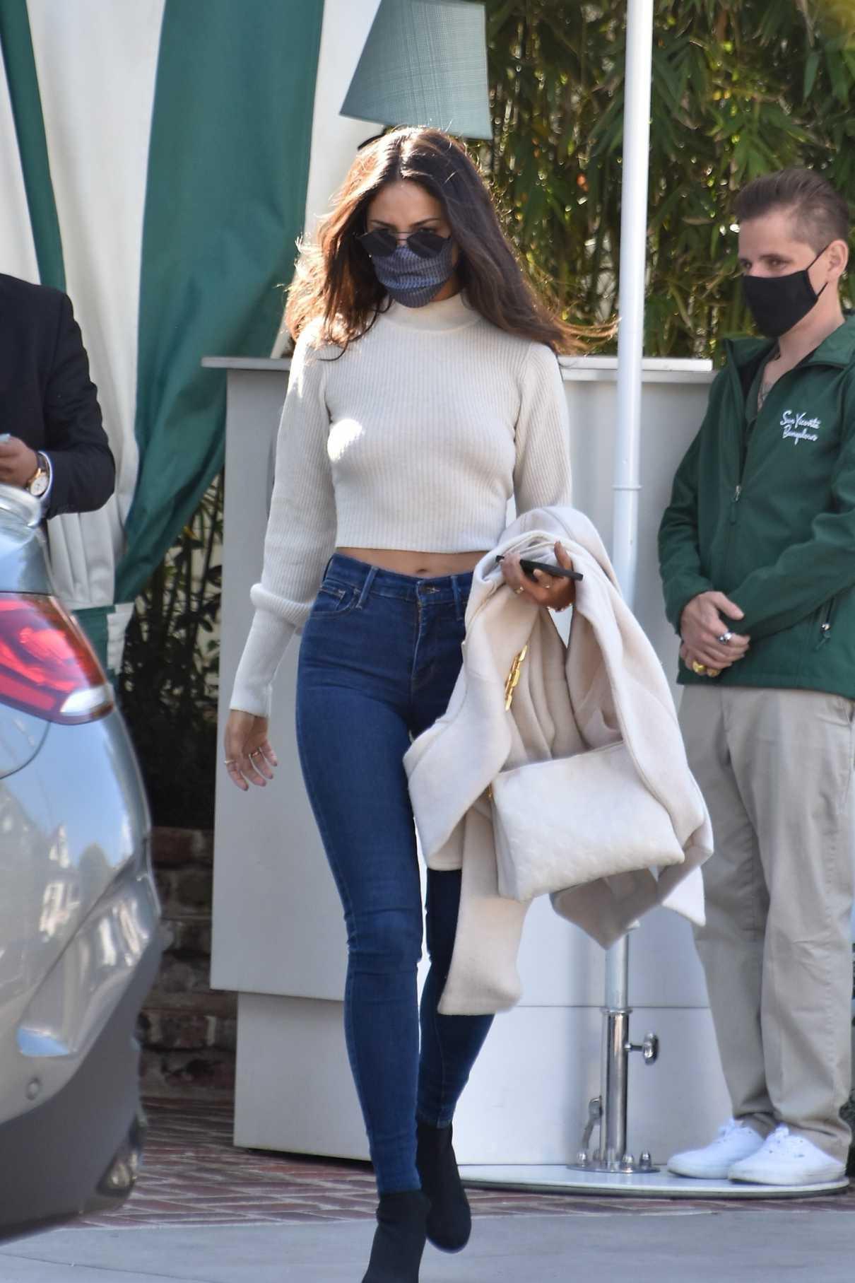 Eiza Gonzalez in a White Sweater