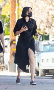 Jessie J in a Black Dress