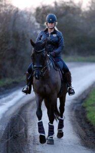 Katie Price in a Black Jacket