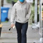 Lucy Hale in a White Sneakers Was Seen Out in Los Angeles 03/03/2021
