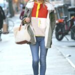 Nicky Hilton in a Black Protective Mask Was Seen Out in Manhattan, New York 03/09/2021