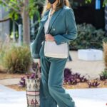 Jessica Alba in a White Sneakers Was Seen Out in Playa Vista 04/06/2021