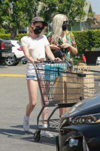 Kristen Stewart in a White Tee
