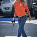 Meg Ryan in an Orange Hoodie Does Her Grocery Shopping in Santa Barbara 04/06/2021