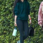 Rumer Willis in a Green Hoodie Leaves a Pilates Class in West Hollywood 04/06/2021