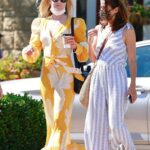 Ali Larter in a Yellow Dress Was Seen Out with a Friend in Santa Barbara 05/01/2021