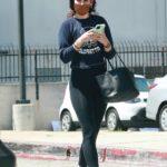 Rumer Willis in a Black Leggings Was Seen Out in Los Angeles 05/21/2021