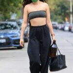 Rumer Willis in a Green Protective Mask Leaves a Pilates Class in West Hollywood 05/13/2021
