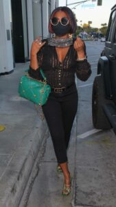 Taraji P. Henson in a Black Outfit