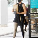 Charlize Theron in a Black Protective Mask Goes Shopping in Sherman Oaks 06/15/2021