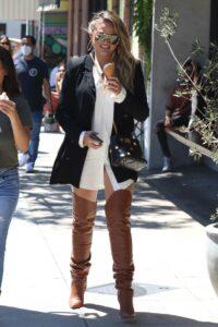 Chrissy Teigen in a Black Blazer
