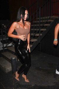 Megan Fox in a Tan Top