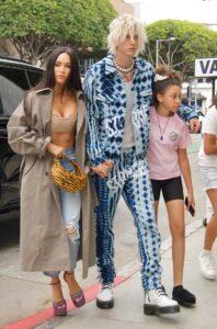 Megan Fox in a Tan Trench Coat