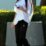 Megan Fox in a White Tee Goes Shopping at Whole Foods in Los Angeles 06/05/2021