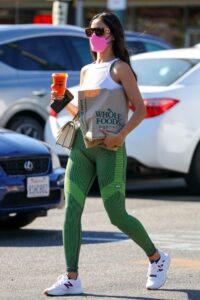 Eiza Gonzalez in a Green Leggings