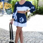 Ester Exposito Leaves the Hotel Martinez During the 74th Annual Cannes Film Festival in Cannes 07/06/2021