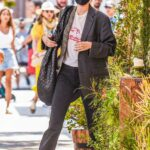 Kendall Jenner in a Black Protective Mask Was Seen Out in Beverly Hills 07/13/2021