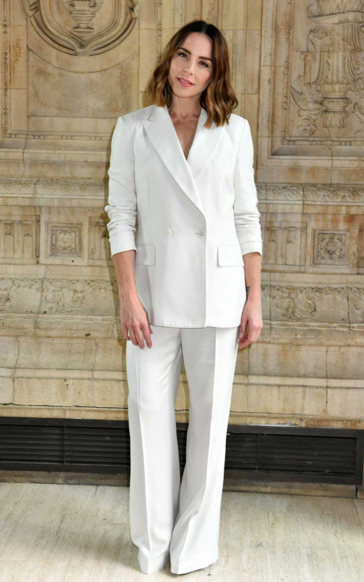 Melanie Chisholm in a White Suit