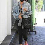 Chrissy Teigen in a Pink Flip-Flops Was Seen Out in Beverly Hills 08/27/2021