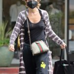 Lisa Rinna in a Black Sweatpants Goes Shopping at Towne in Beverly Glen in Los Angeles 08/21/2021