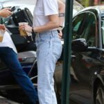 Kristen Stewart in a White Tee Was Seen Out with Dylan Meyer in New York 09/11/2021