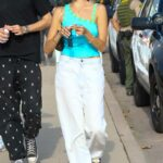 Madison Beer in a White Pants Was Seen Out in Malibu 09/06/2021