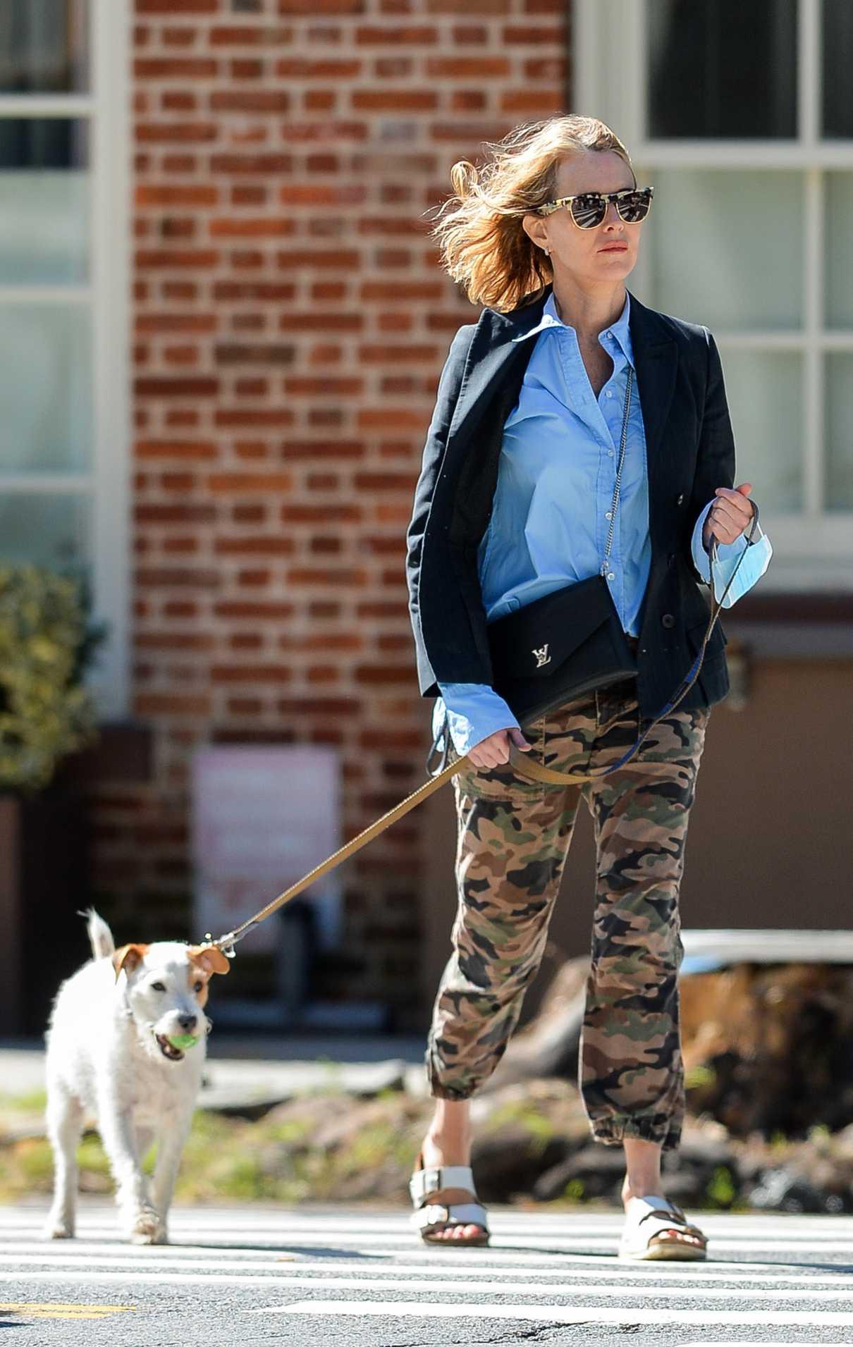 Naomi Watts in a Camo Pants