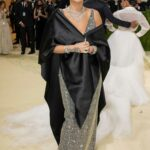 Rita Ora Attends 2021 Met Gala In America: A Lexicon of Fashion at Metropolitan Museum of Art in New York City 09/13/2021